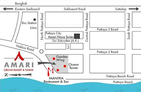 amari-orchid-resort-pattaya-map